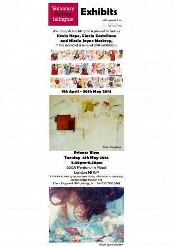 Art Exhibits 6th May 2014